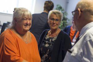 Thyra Frank og Anne Kjærgaard