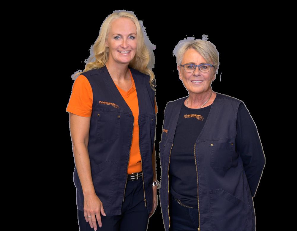 Jannie Lund Gade og Anne Kjærgaard åbner Privathjælpen Holstebro